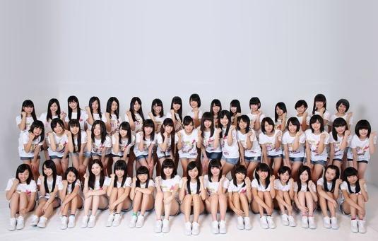 Les 47 membre de la Team 8